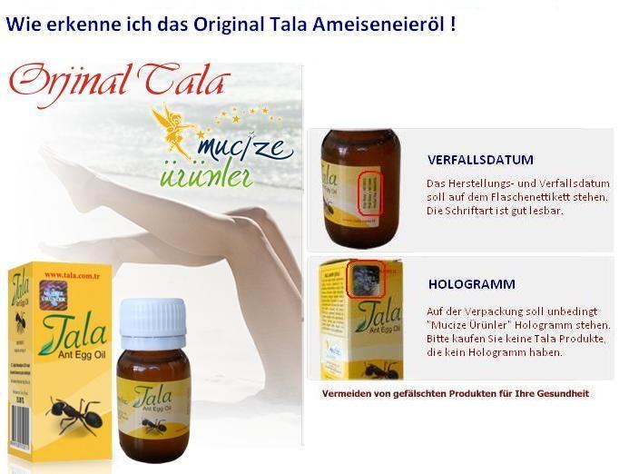 Natural Produkte Tala Ameiseneieröl